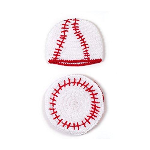 Kostüm Babys Baseball - PEPEL Neugeborenes Baby Baby l Fotografie Requisiten Kostüm süß Baseball uniform