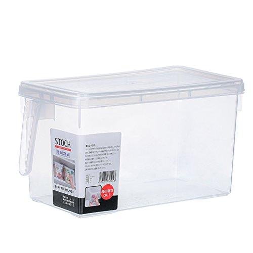 Pixnor - Contenitore per alimenti adatto al frigorifero, colore: trasparente