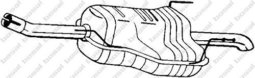 Preisvergleich Produktbild Bosal 185-479 Endschalldämpfer