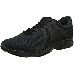Nike Revolution 4 (EU) Scarpe da Trail Running Uomo, Nero (Black / Black 002), 42 EU (7.5 UK)