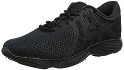 Nike Nike Revolution 4 Eu, Herren Laufschuhe, Schwarz (Black/Black 002), 44 EU (9 UK)