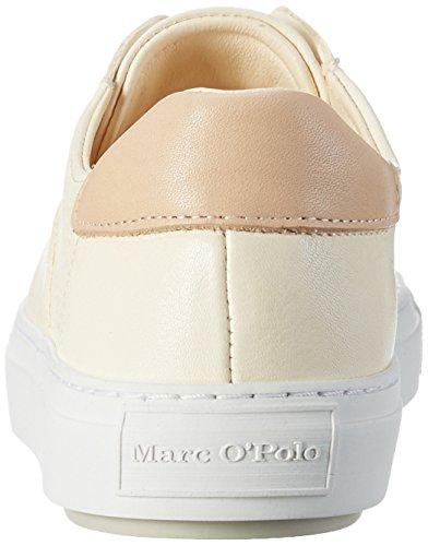 Marc O'Polo Damen 70114053501102 Sneaker Weiß (offwhite)