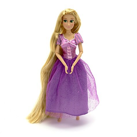 Disney Tangled Rapunzel Classic Fashion Barbie Doll -- 12'' -