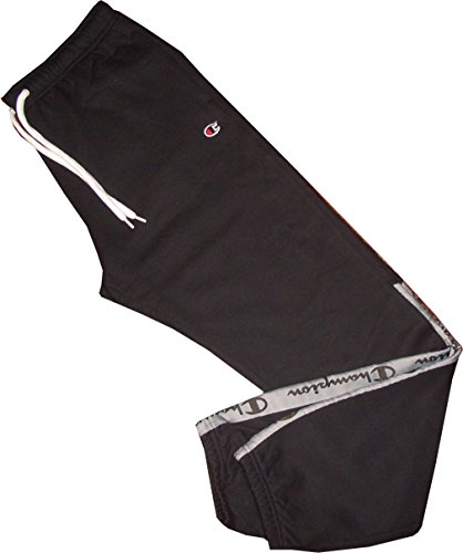 Champion Logo Trainingshose (Champion Elastic Cuff Pants. Trainings- und Jogginghose. Weiches, elastisches Material. Größe 2XL)