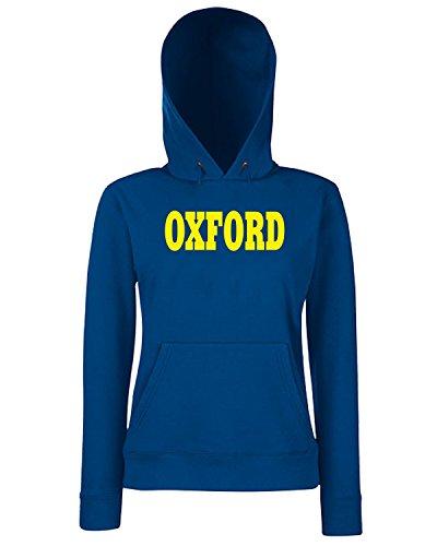 T-Shirtshock - Sweats a capuche Femme WC0710 OXFORD Bleu Navy