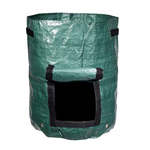 EsportsMJJ 60L Organische Küche Composter Abfall-Konverter Bin Compost Lagerung Saatgutbeutel -