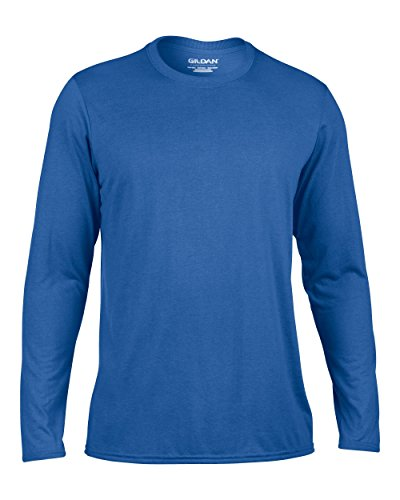 Gildan Long Sleeve Performance GD121 Blau - Königsblau