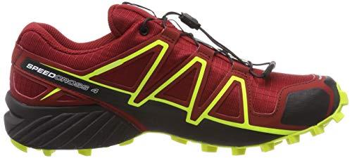 buy online 23e4e 4762d PrevNext. 1. 2. 3. 4. Salomon Speedcross 4, Zapatillas de Running para  Hombre, Rojo (Red Dahlia Black Safety ...