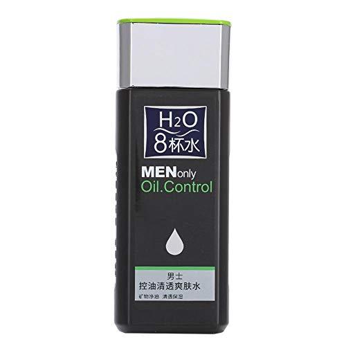 Men Toner - Oil Control Refreshing Toner Akne Mitesserentfernung Feuchtigkeitsspendender Hautpflege-Toner 130ml -
