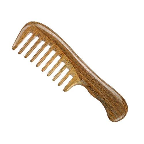 LWBTOSEE Peine para el pelo de sándalo