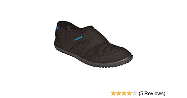 998ea87034c TRIBORD 100 M Men's Aquashoes Black (EU 38-39 UK 5-5.5): Amazon.in: Shoes &  Handbags