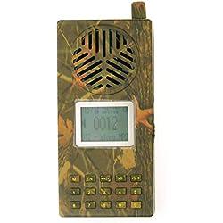 ájaro llamador al aire libre Caza MP3 Reproductor Camuflaje Shell Altavoz Pantalla LCD