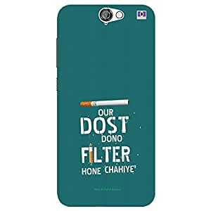 Dost Filter - Mobile Back Case Cover For HTC One A9
