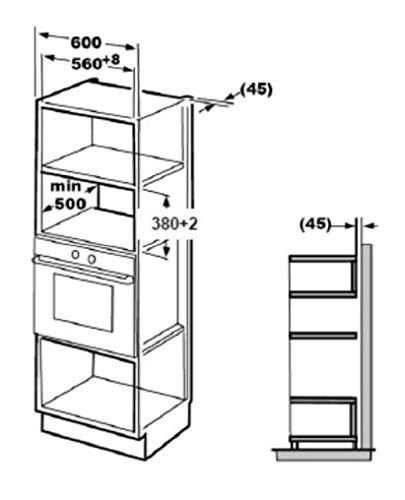 BEKO mgb25333x integrierter Mikrowelle Grill 25L 900W Schwarz, Edelstahl Mikrowelle-Mikrowelle (integriert, Mikrowelle Grill, 25l, 900W, Haptik, Schwarz, Edelstahl)