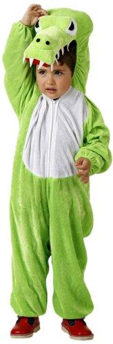 Imagen de disfraz de cocodrilo para niño o niña  3 4 años
