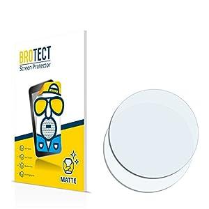 BROTECT Schutzfolie Matt für Armbanduhren (Kreisrund, Durchmesser: 26 mm) [2er Pack] – Anti-Reflex