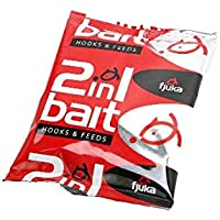 Fjuka 2in1 Bait - 3 bag pack white, yellow, red. The soft feed pellet that's a perfect hookbait.