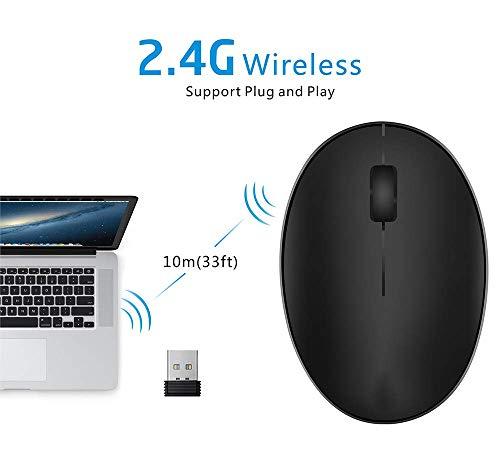 Wireless Maus, Drahtlose 2.4 GHz Touch Maus, Slim Touch Maus, Wireless Ultradünne USB Multi Touch Scroll Maus für Apple MacBook Pro Laptops