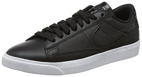 Nike Damen W Blazer Low ESS Sneakers, Schwarz Black 001, 40 EU (Nike Schuhe Blazer Für Frauen)