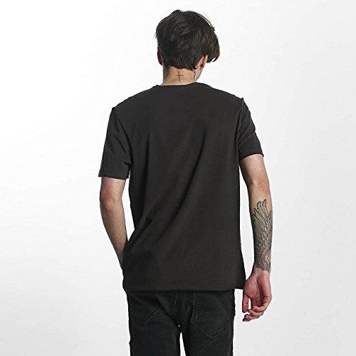 Amplified Herren Oberteile/T-Shirt Metallica The Black Album Charcaol