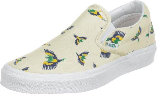 Clássico Sapatos Beges Vans Sobre Deslizamento BCq0xw1