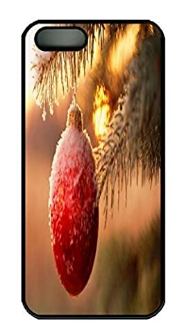 snowy christmas desktop wallpaper Custom PC Hard For SamSung Galaxy S5 Mini Phone Case Cover Black