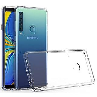 Case Collection Stoßfest Bumper Rahmen Hülle für Samsung Galaxy A9 2018 Hülle Komfortable Griffigkeit Ultraflache kristallklare Hülle mit Schutzrahmen für Samsung Galaxy A9 2018 Hülle