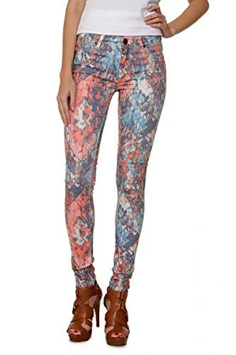 Fiveunits 5Units Damen Jeans Skinny Skinny Jeans PENELOPE Coral