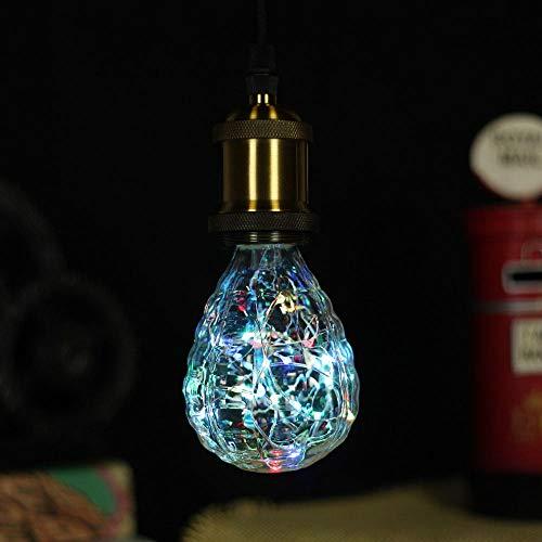 Granada de luz de alambre de cobre de color pino en forma de cono ...