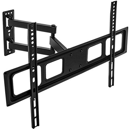 """deleyCON Universal TV Wandhalterung 37""""-70"""" Zoll (94-178cm) Neigbar Schwenkbar - 35Kg bis VESA 600x400 LCD LED OLED TFT Curved Fernseher Halterung"""