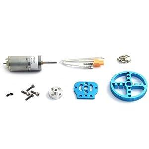 Makeblock - Kit de Motor con Engranajes de Metal, Soporte de Motor, Conector de Eje y Rueda, para Robot (BXMA95010)