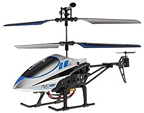 The Flyers Bay 3 Channel Helicopter- The Conqueror Series, Blue