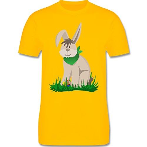 Ostern - Osterhase - Herren Premium T-Shirt Gelb