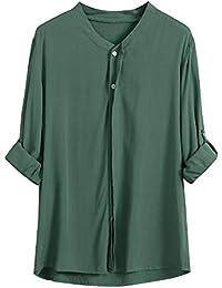 VEMOW Heißer Verkauf Mode Frauen Damen Sommer Herbst Freien Baumwolle  Solide Langarm-Shirt Beiläufige Lose 166147d9b3