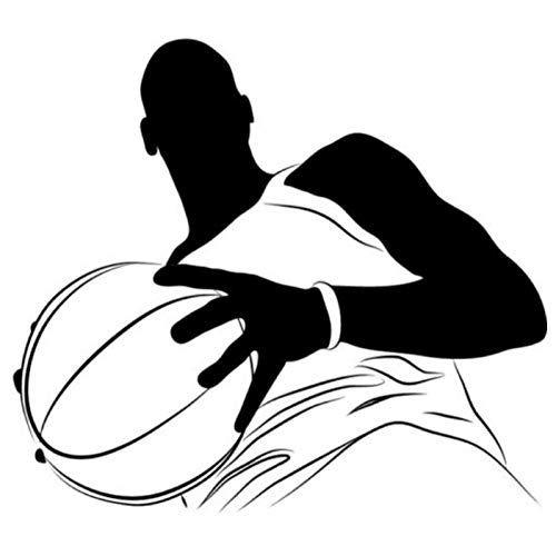 nyl Wandaufkleber Porträt Amerikanischen Sport Wandaufkleber Gym Wohnkultur Kunst Aufkleber Neuheiten Wandbild 44X50 Cm ()