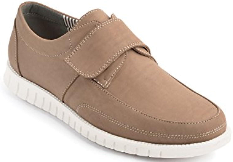 Cojín De Hombres A Pie Velcro Sujetar Zapato Del Barco Con Almohadilla De Gel