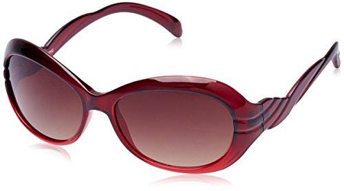 Fastrack Oval Sunglasses (P196BR3F) image
