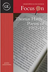 Thomas Hardy - Poems of 1912-13: The Emma Poems (Focus on) Paperback