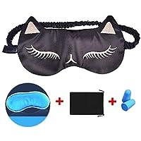 Markcur Schlafmaske Schlafbrille mit Herausnehmbarem Kühlkissen und Wärmend Augenmaske Schlaf kühlend für Reisen... preisvergleich bei billige-tabletten.eu