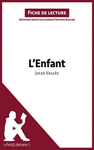 L'Enfant de Jules Vallès Fiche de lecture : Résumé Complet