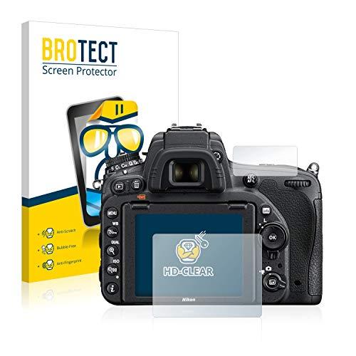 BROTECT Pellicola Protettiva per Nikon D750 [2 Pezzi] - Protezione Schermo, Ultra Trasparente