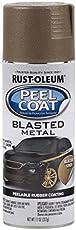 Rust-Oleum 311255 Automotive Peel Coat Blasted Spray Paint (Metal Gold - 312 Grams)