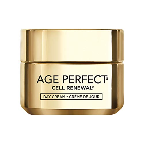 L'Oreal Paris Skincare Age Perfect Cell Renewal Day Cream Anti-Aging Face  Moisturizer with SPF 15 to Replump Refresh and Renew 1 7 oz