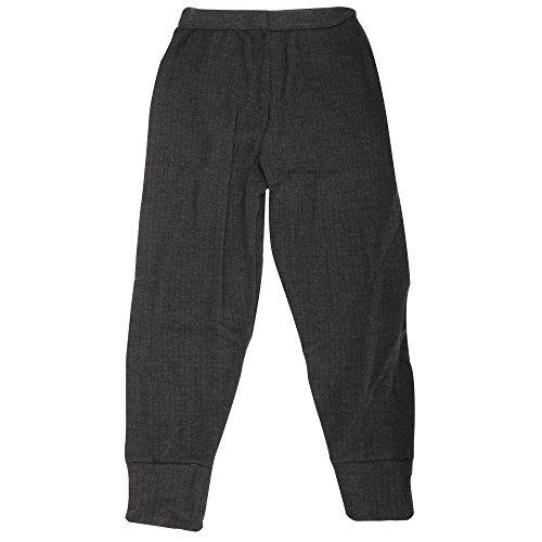 Textiles Universels sous-Pantalon Thermique - Garçon (6-8 Ans, Hanches: 55 cm) (Gris Cendre)