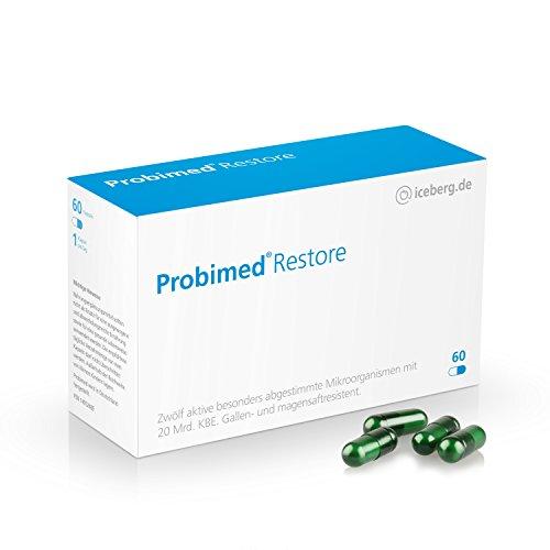 Probimed Restore - jetzt mit 12 hochdosierten aktiven Bakterienkulturen Darmkur (Lebensmittel-allergie-test)