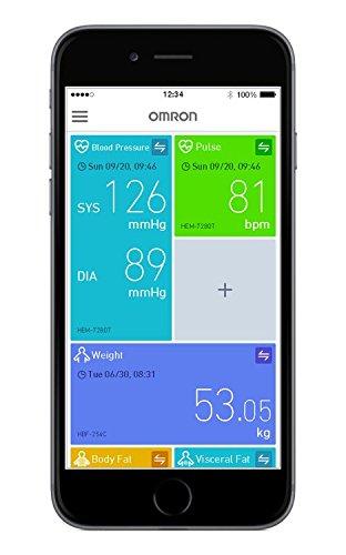 Omron M700 Intelli IT Automatisches Oberarm-Blutdruckmessgerät - 6