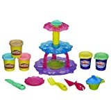 Playdoh Sweet Shoppe Cup Cake Tower, Multi Color