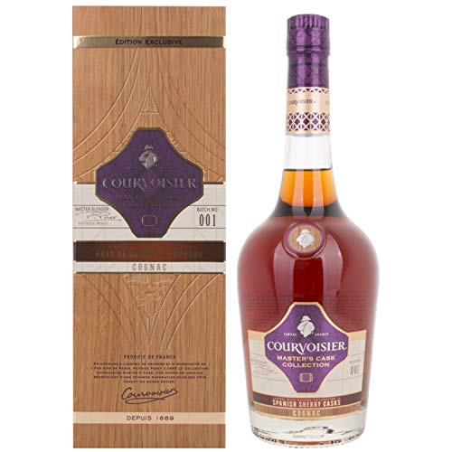 Courvoisier Masters Cask Collection SPANISH SHERRY CASKS Cognac 40,00% 0.7 l.