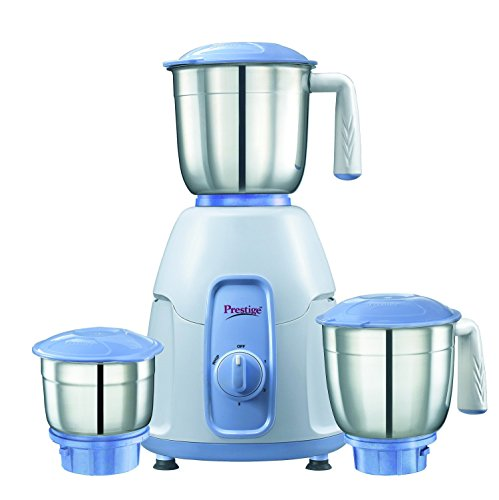 Prestige Stylo (550 Watt) Mixer Grinder with 3 Stainless Steel Jar