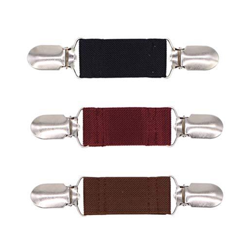 e Clips Unisex Clips Einfache Elegante Pullover Kette Strickjacke Clips für Frauen Männer 3 STÜCKE ()
